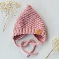 NEWBORN MOSSY BONNET - Pink