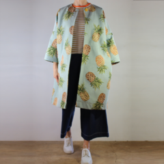Oversized Pineapple Coat