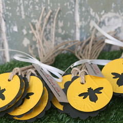 12 Bee Tags Great for Makers of Bee Products Honey Tags