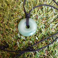 Green Aventurine Pendant Necklace.