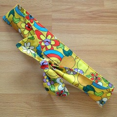 Yellow Tie Headband in Ellie Whittaker's Happy Flowers - Ready Made