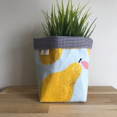 Small fabric planter | Storage basket | PEARS
