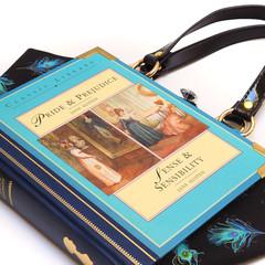 Pride & Prejudice - Sense & Sensibility Novel Bag - Bag made from a book