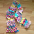 Party Popper Scarf - One Off Rainbow Unicorn Scarf