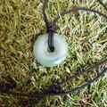 Green Aventurine Pendant Necklace.