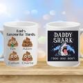 Personalised Dad, step dad, Name, Photo, Coffee or Tea Mug