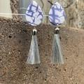 Indigo Blue Earrings