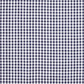 Gorgeous Gingham – Navy (6mm) - Face Mask