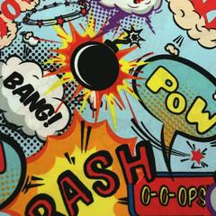 Boom Crash Bang - Face Mask