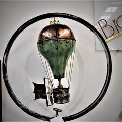 Steampunk Propeller-Driven Balloon Sculpture. Free Shipping