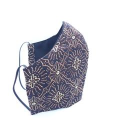 Handmade Batik cotton Face mask with filter pocket, Reusable, Washable for Adult