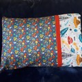 SPACE TODDLER/JUNIOR PILLOW+ CASE/TRAVEL PILLOW/1 - 4 YEARS