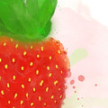 'I love you berry much' Watercolour Digital Painting, Instant Download Printable