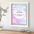 'My Person' - Quote, Typography Artwork, Instant Download Printable
