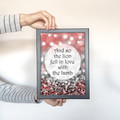 'The Lion and the Lamb' - Quote, Typography Artwork, Instant Download Printable