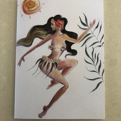 Polynesian Princess Card