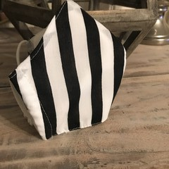 Face Mask 3 Layers - *Stripe*