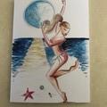Honeymoon Dancer Card