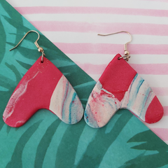 Hanging Hearts Earrings