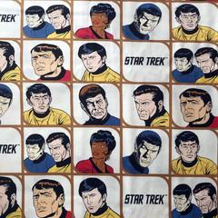 Star Trekking Across the Universe - Face Mask