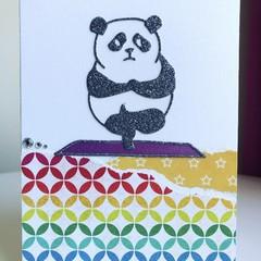 Panda yoga card