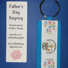 Father's day keyring - Happy Father's Day