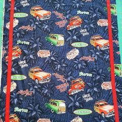 Dog Beds-Cars-Cotton Print-62cm x 52cm