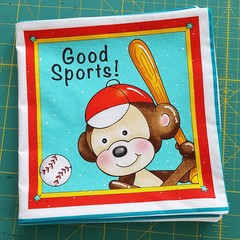 Cloth Books-Good Sports-Beautiful Children Stories