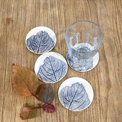 Handmade Ceramic Coaster Set / Gift