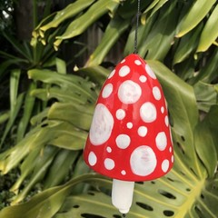 Garden bell/ wind chime 🍄