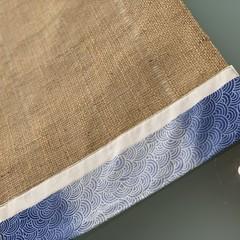 Table Runner- Blue Swirl-114 cm x 36 cm