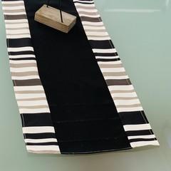 Table Runner-Black Stripe no end - 100cm x 35cm