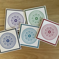 Heart Mandala | Card pack of 5