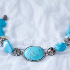 Boho Turquoise Stye Necklace