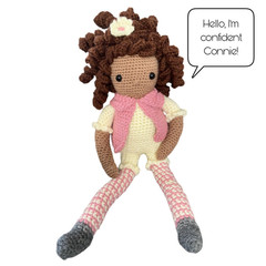 Confident Connie - from the Red George cuddle crew