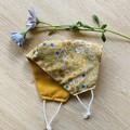 Face Mask - Vintage Floral Mustard