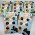 Triple pack pack polymer clay studs