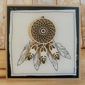 Dream catcher | Blank card | Material