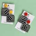 Retro Statement Earrings