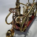 Steampunk Sculpture: The Imperial Coffee Carriage.  Free Shipping