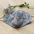 Face Mask- Vintage Floral Sage