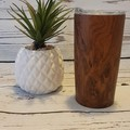 WOODGRAIN TUMBLER | FATHER'S DAY GIFT | PERSONALISED