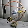Steampunk Lamp: CV. Free Shipping