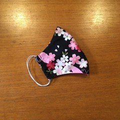 Three Layer Face Mask - Blossom - ADULT
