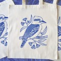 Kookaburra Tote Bag / Australian Bird Shopping Bag / Reusable Bag