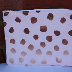 Handmade canvas clutch/purse | gift idea
