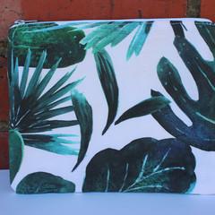 Handmade clutch purse | eco-friendly cotton canvas | multi-use