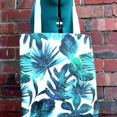 Handmade eco-friendly canvas tote bag | gift idea