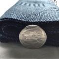 Lightweight Handwoven Tencel Scarf,  Blue