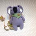 Koala crocheted in pure cotton